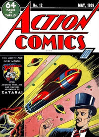 Cover Thumbnail for Action Comics (DC, 1938 series) #12