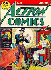 Cover Thumbnail for Action Comics (DC, 1938 series) #14