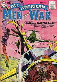 Cover Thumbnail for All-American Men of War (DC, 1953 series) #54