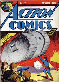 Cover Thumbnail for Action Comics (DC, 1938 series) #17