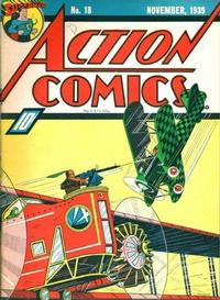 Cover Thumbnail for Action Comics (DC, 1938 series) #18
