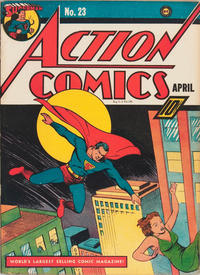 Cover Thumbnail for Action Comics (DC, 1938 series) #23