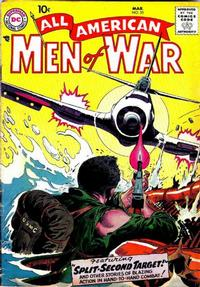 Cover Thumbnail for All-American Men of War (DC, 1953 series) #55