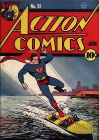 Cover Thumbnail for Action Comics (DC, 1938 series) #25