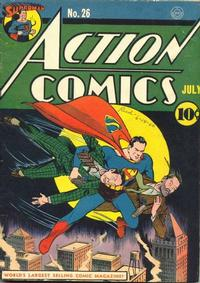 Cover Thumbnail for Action Comics (DC, 1938 series) #26