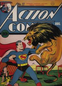 Cover Thumbnail for Action Comics (DC, 1938 series) #27