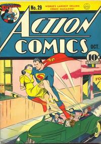 Cover Thumbnail for Action Comics (DC, 1938 series) #29