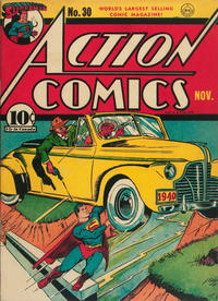 Cover Thumbnail for Action Comics (DC, 1938 series) #30