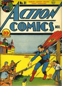 Cover Thumbnail for Action Comics (DC, 1938 series) #31