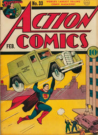 Cover Thumbnail for Action Comics (DC, 1938 series) #33