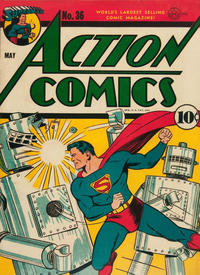 Cover Thumbnail for Action Comics (DC, 1938 series) #36