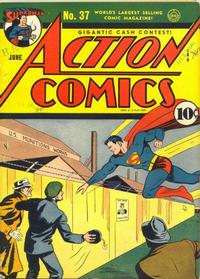 Cover Thumbnail for Action Comics (DC, 1938 series) #37