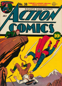 Cover Thumbnail for Action Comics (DC, 1938 series) #38
