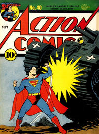 Cover Thumbnail for Action Comics (DC, 1938 series) #40