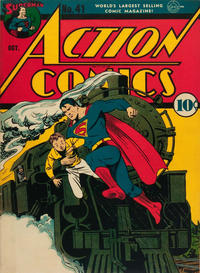 Cover Thumbnail for Action Comics (DC, 1938 series) #41
