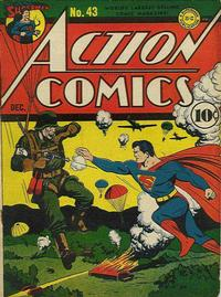 Cover Thumbnail for Action Comics (DC, 1938 series) #43