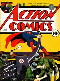 Cover Thumbnail for Action Comics (DC, 1938 series) #44