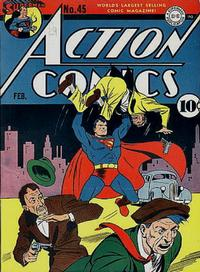 Cover Thumbnail for Action Comics (DC, 1938 series) #45