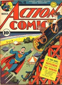 Cover Thumbnail for Action Comics (DC, 1938 series) #46