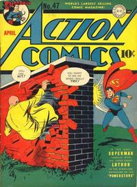 Cover Thumbnail for Action Comics (DC, 1938 series) #47