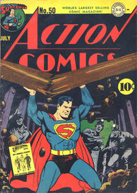 Cover Thumbnail for Action Comics (DC, 1938 series) #50