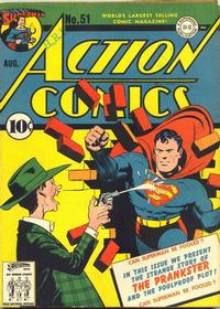 Cover Thumbnail for Action Comics (DC, 1938 series) #51