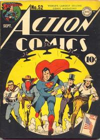 Cover Thumbnail for Action Comics (DC, 1938 series) #52