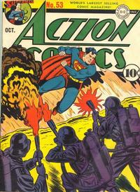 Cover Thumbnail for Action Comics (DC, 1938 series) #53