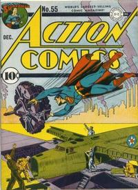 Cover Thumbnail for Action Comics (DC, 1938 series) #55