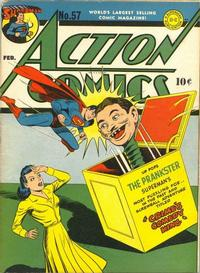Cover Thumbnail for Action Comics (DC, 1938 series) #57