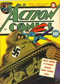 Cover Thumbnail for Action Comics (DC, 1938 series) #59