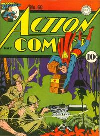 Cover Thumbnail for Action Comics (DC, 1938 series) #60