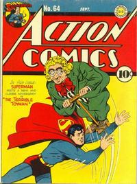 Cover Thumbnail for Action Comics (DC, 1938 series) #64