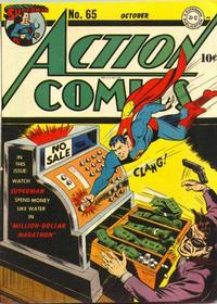 Cover Thumbnail for Action Comics (DC, 1938 series) #65