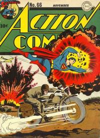 Cover Thumbnail for Action Comics (DC, 1938 series) #66