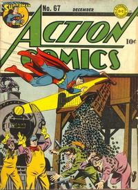 Cover Thumbnail for Action Comics (DC, 1938 series) #67