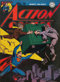 Cover Thumbnail for Action Comics (DC, 1938 series) #70