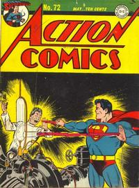 Cover Thumbnail for Action Comics (DC, 1938 series) #72