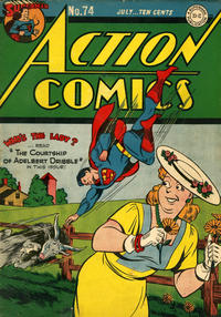 Cover Thumbnail for Action Comics (DC, 1938 series) #74