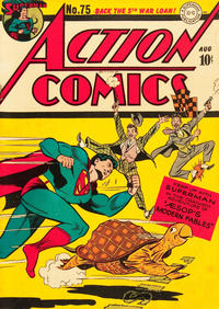 Cover Thumbnail for Action Comics (DC, 1938 series) #75