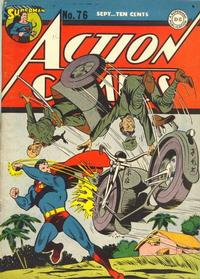 Cover Thumbnail for Action Comics (DC, 1938 series) #76