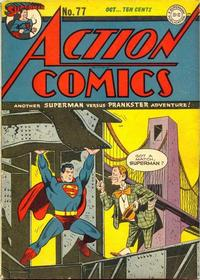 Cover Thumbnail for Action Comics (DC, 1938 series) #77