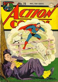 Cover Thumbnail for Action Comics (DC, 1938 series) #79