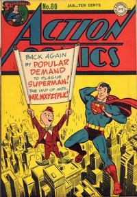 Cover Thumbnail for Action Comics (DC, 1938 series) #80