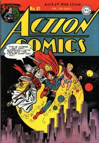 Cover Thumbnail for Action Comics (DC, 1938 series) #81