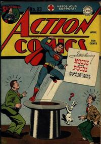 Cover Thumbnail for Action Comics (DC, 1938 series) #83