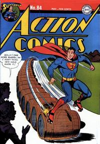 Cover Thumbnail for Action Comics (DC, 1938 series) #84