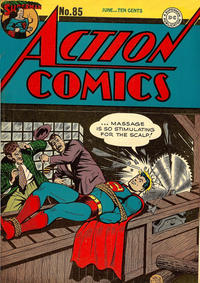Cover Thumbnail for Action Comics (DC, 1938 series) #85