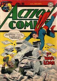 Cover Thumbnail for Action Comics (DC, 1938 series) #86