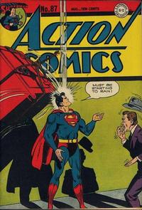 Cover Thumbnail for Action Comics (DC, 1938 series) #87
